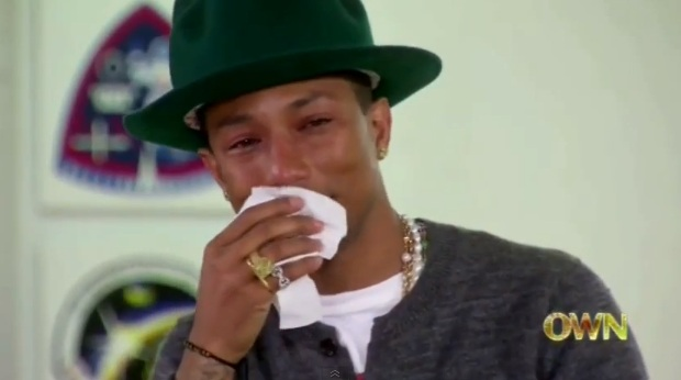 happy cry pharell