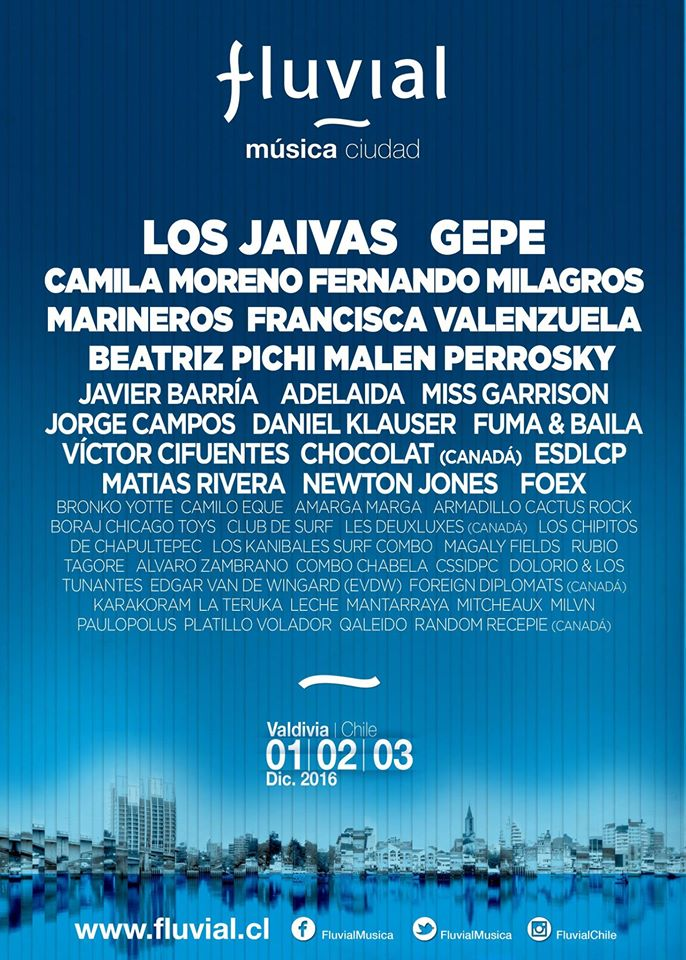 Lineup Fluvial